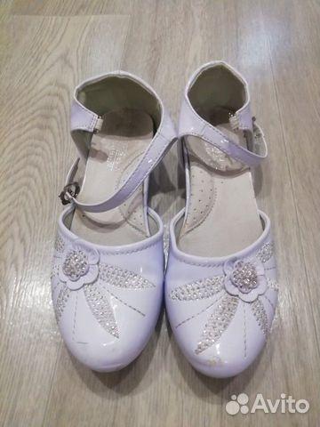 Туфли белые, р. 32 89201047143 купить 1