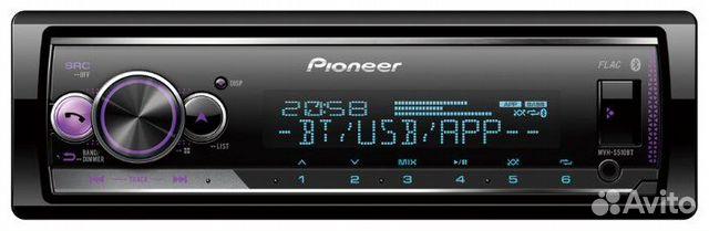 Магнитола Pioneer MVH-S510BT 89814340544 купить 4