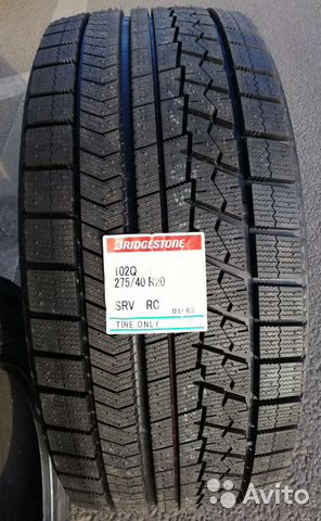 Bridgestone Blizzak RFT 275/40 R20 Run Flat 102 Q 89182762202 купить 2