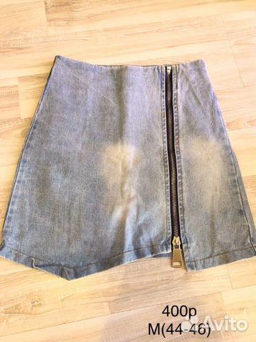 Юбка джинсовая 89221552955 купить 1
