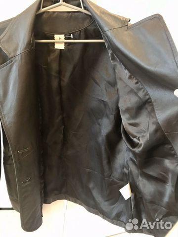 Новый кожа пиджак куртка  89097870553 купить 3