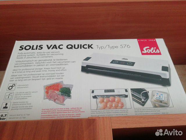 вакуумный упаковщик solis vac quick