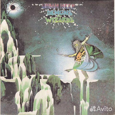 Виниловая пластинка.Uriah Heep Demons And Wizard