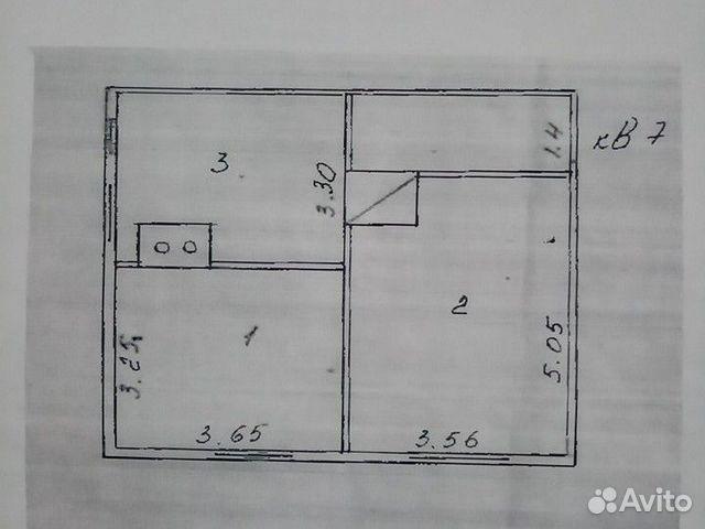 Комната 20 м² в 1-к, 2/2 эт. 89658500266 купить 7