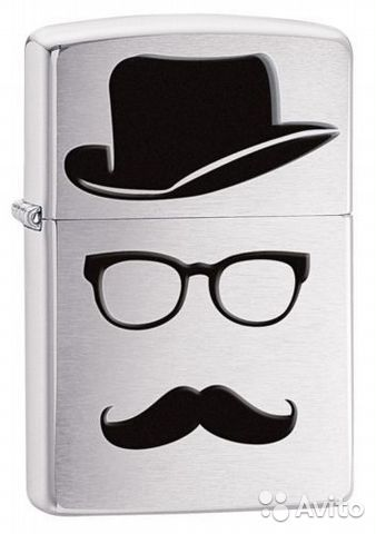 "Zippo Оригинал made in USA ""Джентльмен""— фотография №1"