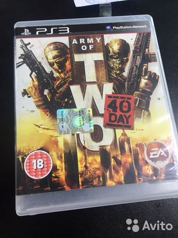 Army of TWO кгн06  89225782028 купить 1