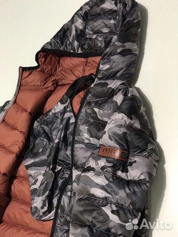 Куртка на мальчика, 128 рост, новая  купить 1