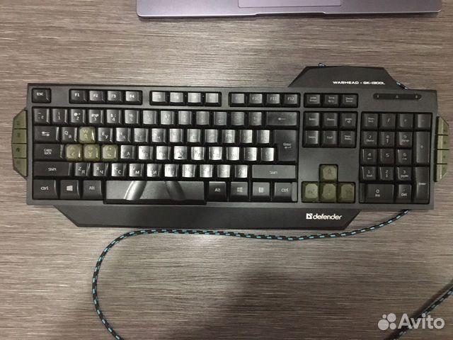 Игровая клавиатура Defender Warhead GK-1300L  89272085355 купить 3