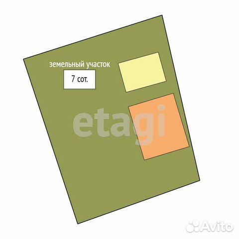 Дом 64 м² на участке 7 сот.  89220438125 купить 4