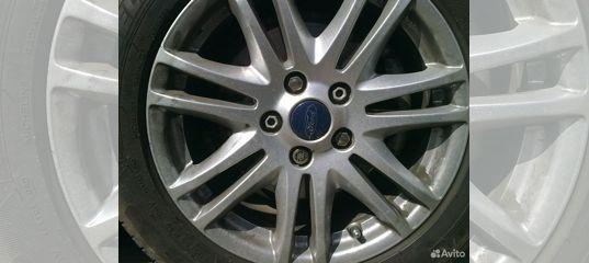 Колеса r16 ford focus 2. Диски оригинал, резина но