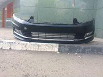 Volkswagen polo sedan бампер капот крыло фара двер