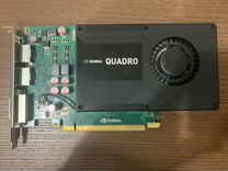 Видеокарта Quadro K2000