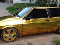 Плёнка хром золото