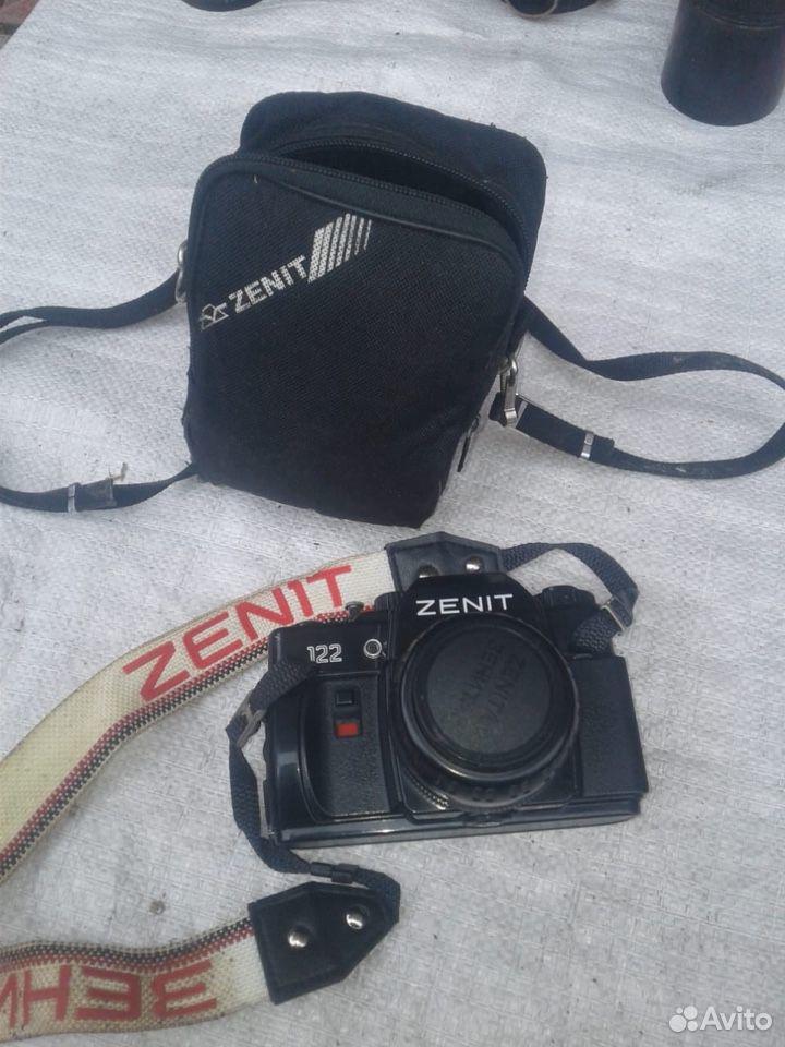 Пленочный фотоаппарат зенит 122