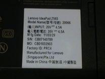 Ноутбук Lenovo IdeaPad Z565
