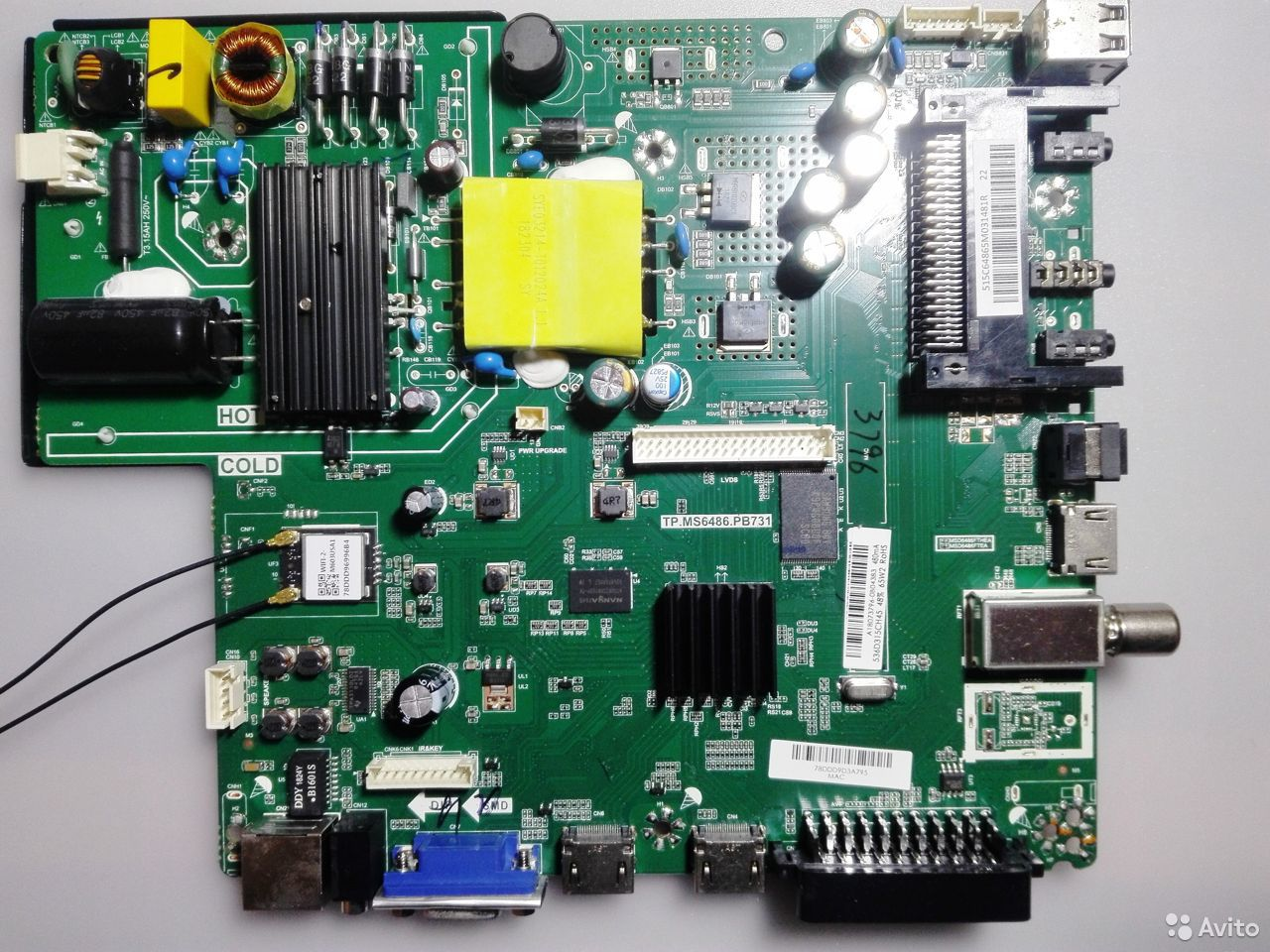 TP.MS6486.PB731 для телевизора haier LE32K5500T