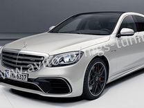 Обвес на Mercedes S-class w222 new S63 AMG