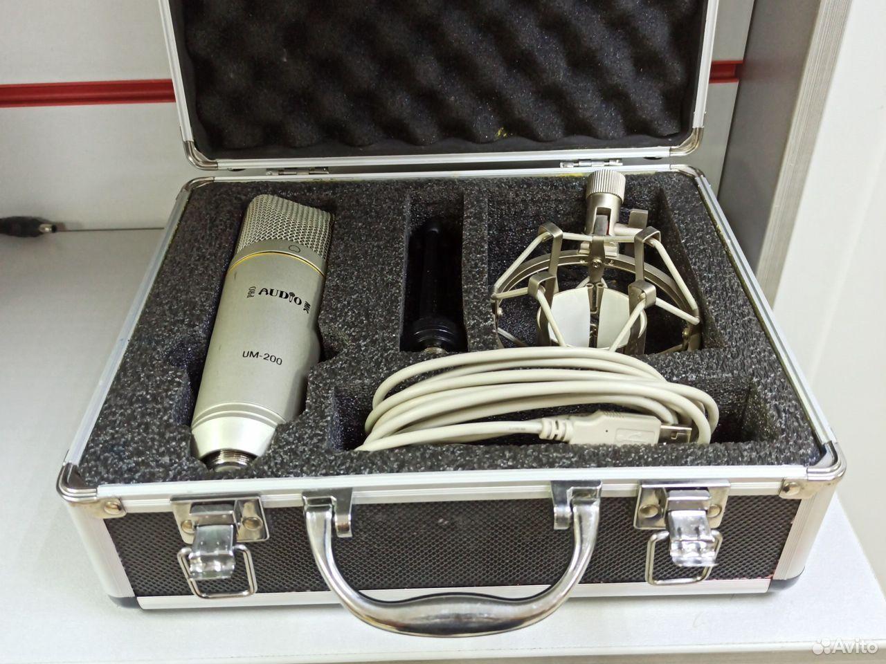 Студийный микрофон proaudio um-200  88452395051 купить 1