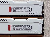 DDR4 16Gb (2x8) 2933mhz Kingston HyperX — Товары для компьютера в Новосибирске