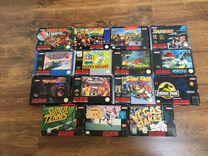 Super Nintendo оригинальные игры