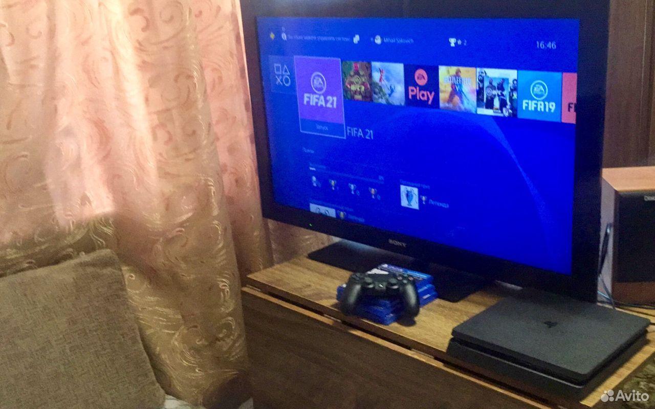 Sony PS4 Slim 1TB, новая, на гарантии + игры 89038918724 купить 10