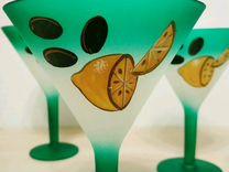 Фужеры под мартини