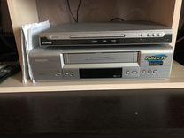 Видеомагнитофон и DVD плеер