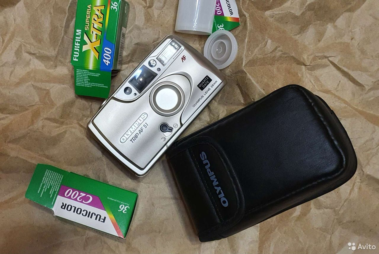 Пленочный фотоаппарат olympus trip af 51