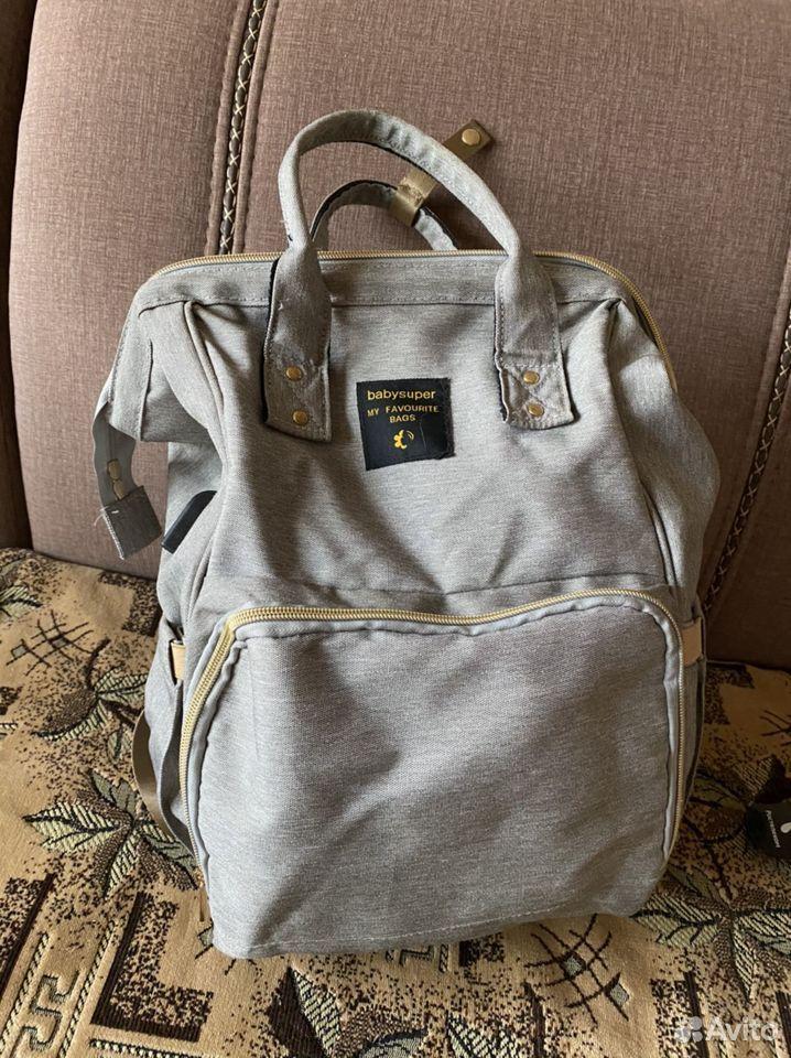 Сумка рюкзак для мамы  89376207649 купить 2