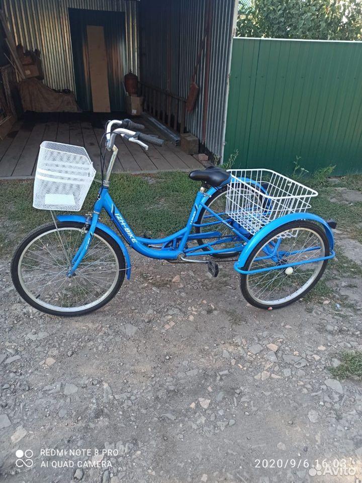 Велосипед трех колесный взрослый  89204706061 купить 1