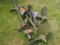 Винты с валами и пр. на Бмк-130, в сборе