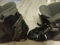 Лыжи горные + палки + ботинки Alpine 7L SRX advent