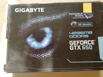 Geforce GTX 650 4gb