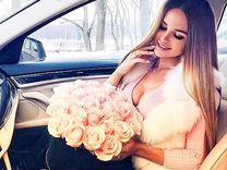 25 роз Эквадор доставка цветов букет