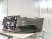 Бампер в сборе Audi A6 C7 решетка радиатора