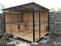 Вольеры и будки для животных. Летний душ туалет
