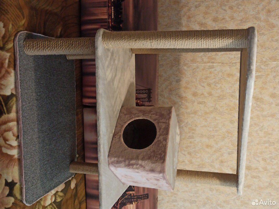 Когтеточка-домик для кошек  89995117703 купить 1
