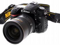 Зеркальный фотоаппарат Nikon D7000 с объективом