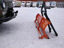 Отвал (лопата) навесное для уборки снега на УАЗ