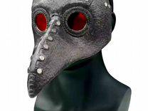 Маска чумной доктор косплей Grey