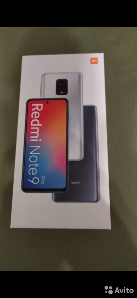 Новый Xiaomi Redmi Note 9 Pro 6/128Gb, новый, Рост