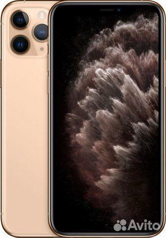 iPhone 11 pro max 256 в золотом цвете (идеальное с  89667293960 купить 1