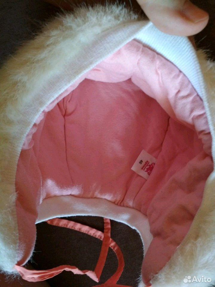 Зимняя шапочка для малышки  89831965010 купить 4