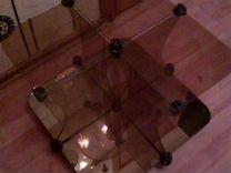 Журнальный стол стекло с зеркалом — Мебель и интерьер в Краснодаре