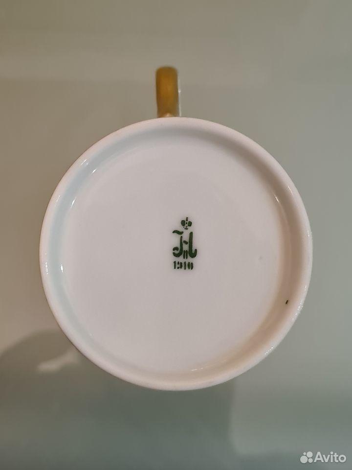 Антикварная чайная пара ифз  89013700120 купить 7