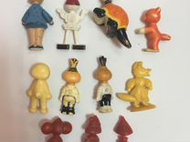 Фигурки Игрушки СССР Колкий пластик
