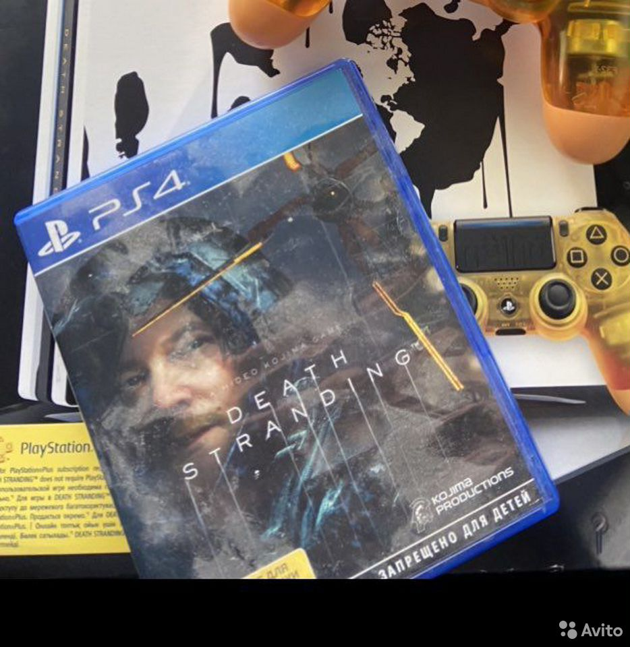 Игра на PS4 Death Stranding  89823039029 купить 1