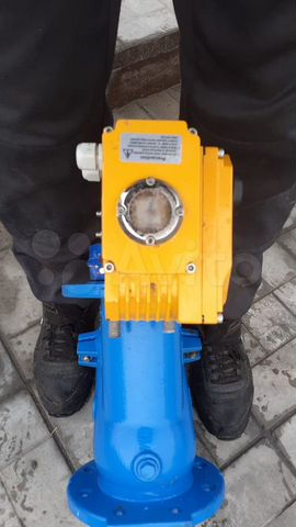 Обратный клапан с электроприводом