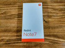 Redmi note 7 4/64 Нептуновый синий