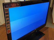 Телевизор supra stv-lc19390w с полосками